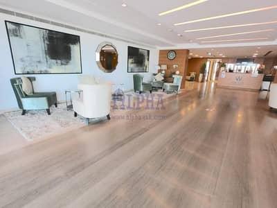 استوديو  للايجار في جزيرة المرجان، رأس الخيمة - Chiller free studio with stunning rooftop facilities with extra one month free