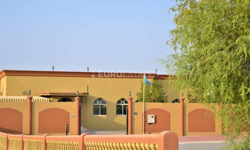 3 Bedroom Villa for Rent in Al Dhait, Ras Al Khaimah - Fully Frunished 4BR+Maid Room & Modified Interiors