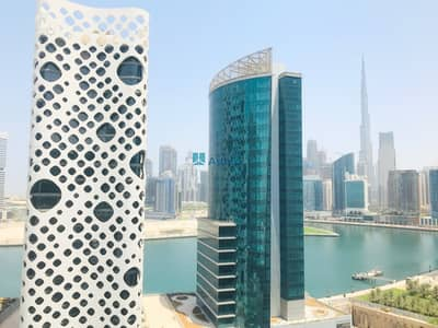 1 Bedroom Flat for Rent in Business Bay, Dubai - Spacious 1BR   Canal View   Ubora Towers