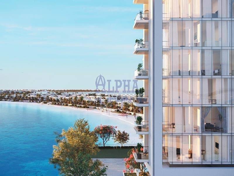 16 Sparkling lagoon view apartment ready with 5% downpayment only