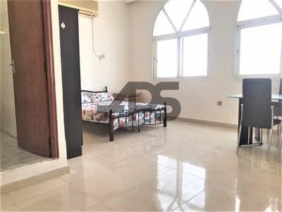 Studio for Rent in Al Muroor, Abu Dhabi - No Commission | Short Term | Semi - Furnished Studio in Muroor near Mushrif Mall