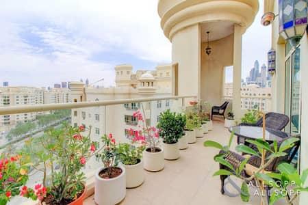 شقة 3 غرف نوم للبيع في نخلة جميرا، دبي - 3 Bedrooms   Penthouse Level   Sea Views