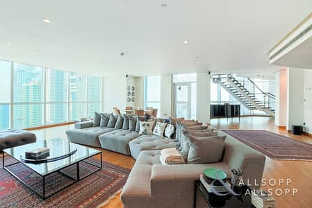 4 Bedroom Flat for Sale in Dubai Marina, Dubai - Sea View | Upgraded | Vacant on Transfer