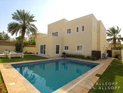 فیلا 4 غرف نوم للبيع في السهول، دبي - Fully Upgraded | 4 Beds | Swimming Pool