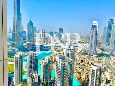 2 Bedroom Apartment for Rent in Downtown Dubai, Dubai - 5 Start Luxury Serviced Apartment | Burj Khalifa