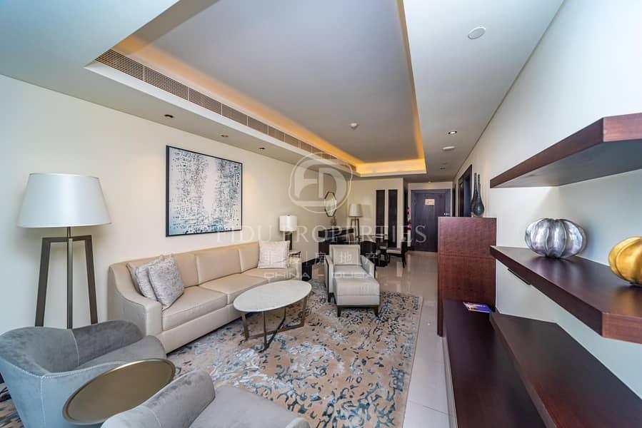 2 High Floor | Full Burj Views | All bills including