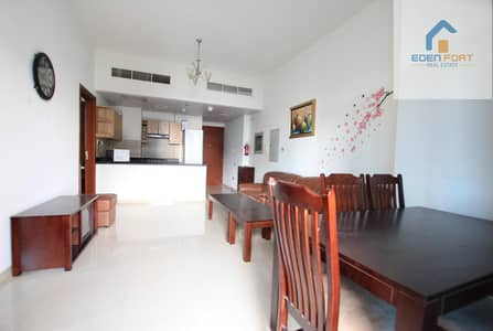 Fully Furnished-Two Bedroom- Closed Kitchen | DSC...
