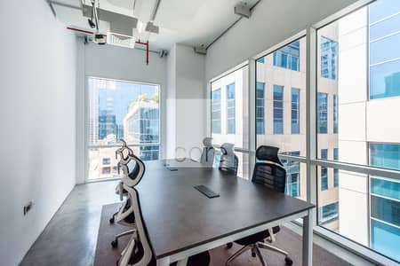 Office for Rent in Business Bay, Dubai - Partitioned | Fitted and Furnished Office