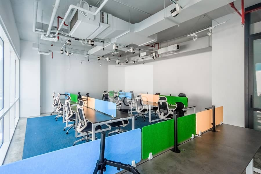 2 Partitioned   Fitted and Furnished Office