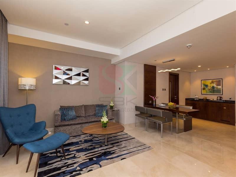 Fully Furnished 1 Bedroom Near MOE Free DEWA & WIFI.