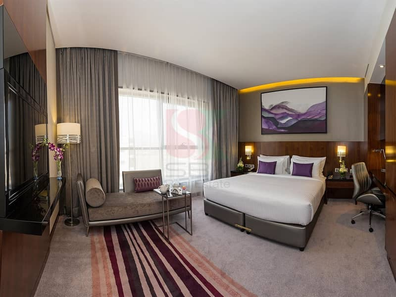 2 Fully Furnished 1 Bedroom Near MOE Free DEWA & WIFI.