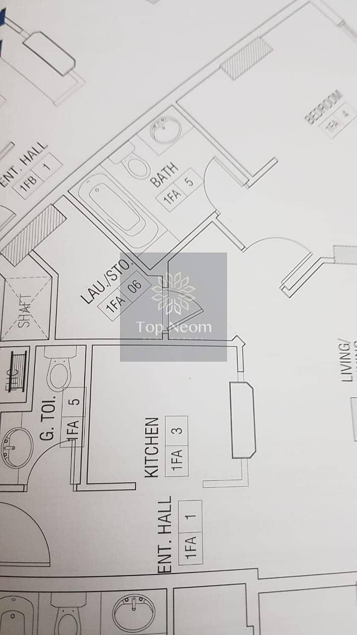 11 Spacious 1 Bedroom Modernly Designed  - Mid Floor