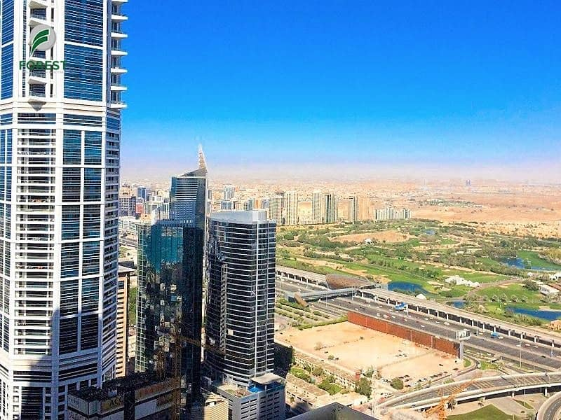 2 High Floor | Vacant 3BR +Maid | Balcony View