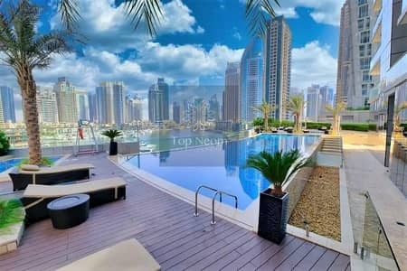 2 Bedroom Apartment for Rent in Dubai Marina, Dubai - Excellent Furnished 2 Bedroom with Marina View