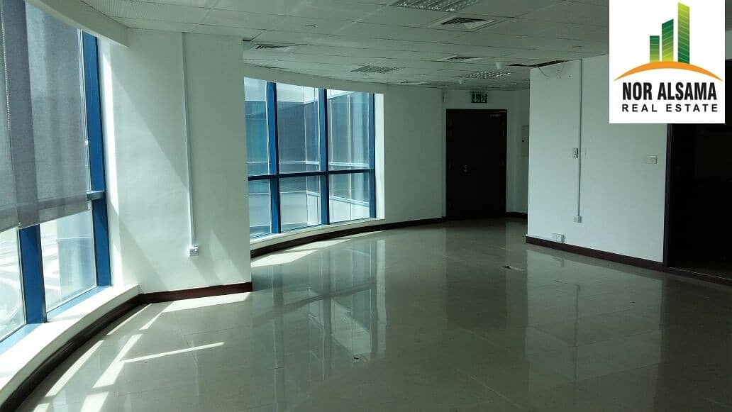10% ROI with 4 years old client !! Fully fitted office in Reef Tower JLT mid floor@ 1.75 million