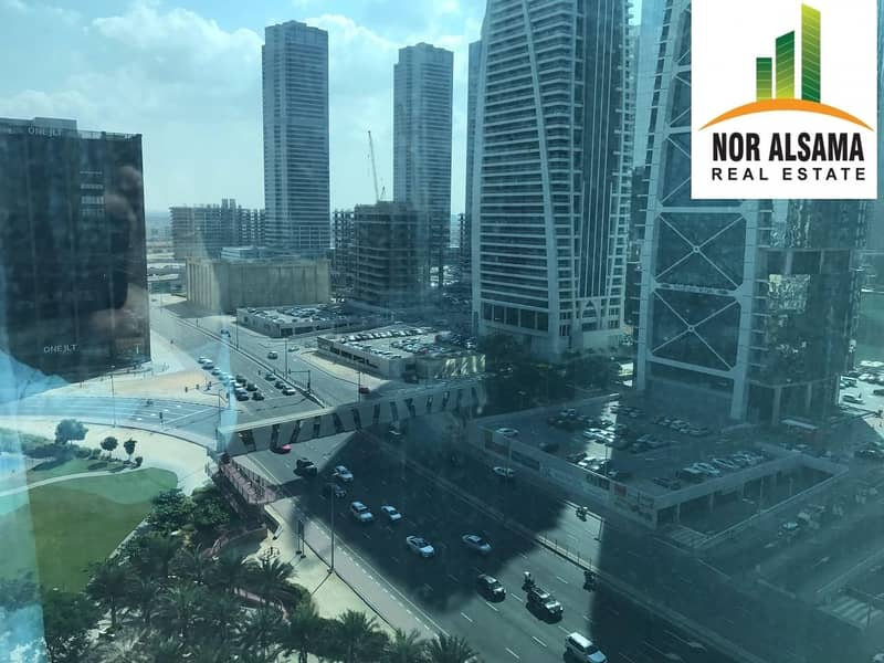 22 10% ROI with 4 years old client !! Fully fitted office in Reef Tower JLT mid floor@ 1.75 million