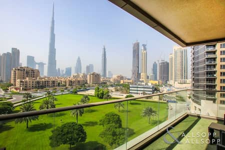 2 Bedroom Apartment for Rent in Downtown Dubai, Dubai - 2Bed | Fully Furnished | Burj Khalifa View