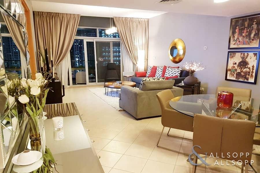2 1 Bedroom | Modern Finish | Marina Views<BR/>