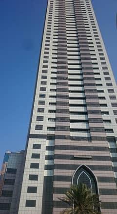 غرفة و صالة  للبيع برج الواحة الخان كورنيش