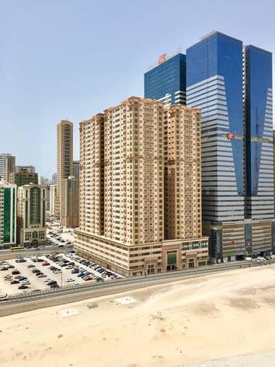 فلیٹ 2 غرفة نوم للايجار في النهدة، الشارقة - شقة في النهدة صحارى بلازا النهدة 2 غرف 32000 درهم - 4745793
