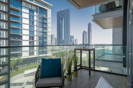 شقة 1 غرفة نوم للايجار في جزيرة بلوواترز، دبي - Paradise views of Marina skyline and the sea !