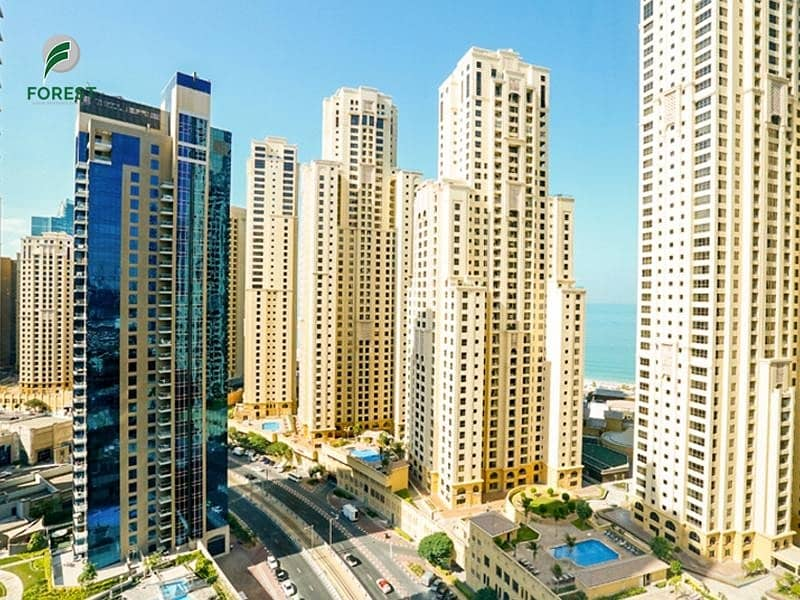 30 High Floor | Fully Furnished | JBR and Marina View
