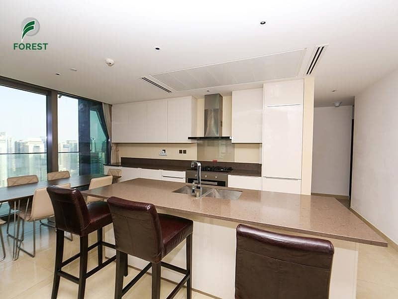 2 Marina View| Corner Unit | Fully Furnished |Vacant