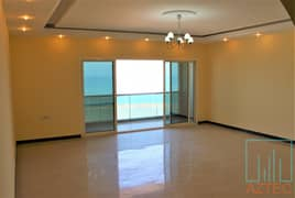 Spacious, Panoramic & Full Sea View 3BHK For Rent
