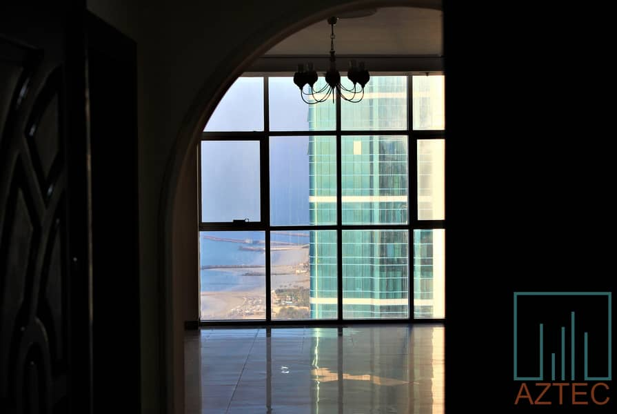2 Spacious 2BHK+ Maid Room With Amazing Sea & City View