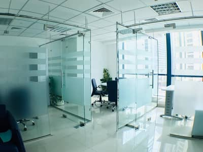 Furnished office I Partitions I Close to metro