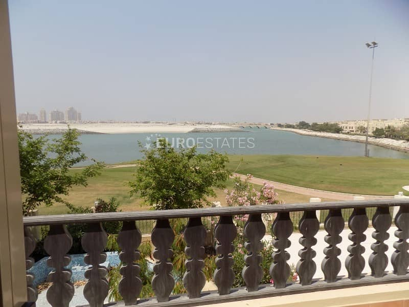 3 BR Crystal Sea | Lagoon View in Al Hamra Village