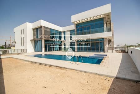 7 Bedroom Villa for Rent in Mohammad Bin Rashid City, Dubai - Brand New Fully  Furnished- 7 BR's Mansion - Spectacular view