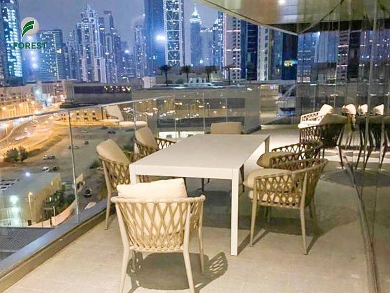 Brand New | 1BR | Sea View | Furnished | Vacant