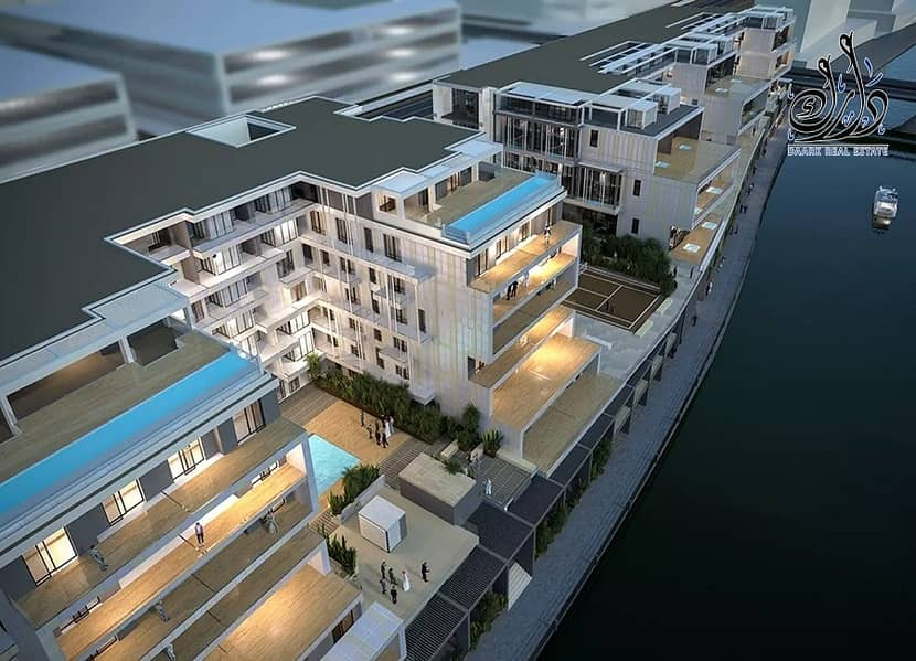 2 2 Bedroom Duplex With Roof| | Large Balcony & Waterfront  | Al Raha Beach  |Fully furnished!