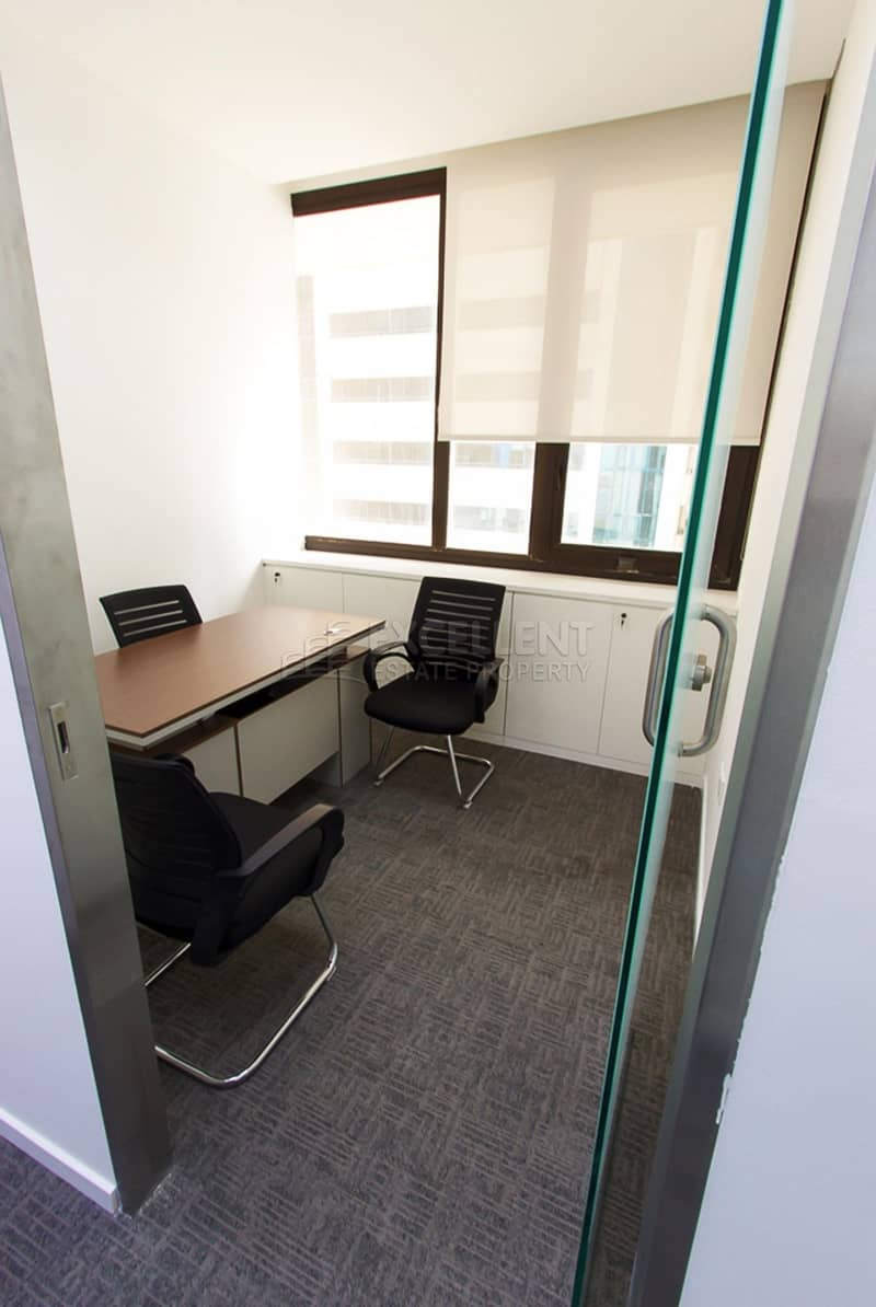 2 Affordable Semi Furnished Office Space / Short Term / For Tawtheeq Purpose
