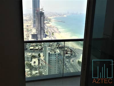 شقة 2 غرفة نوم للايجار في كورنيش عجمان، عجمان - 1 MONTH FREE !! 2BHK With Perfect City & Sea View