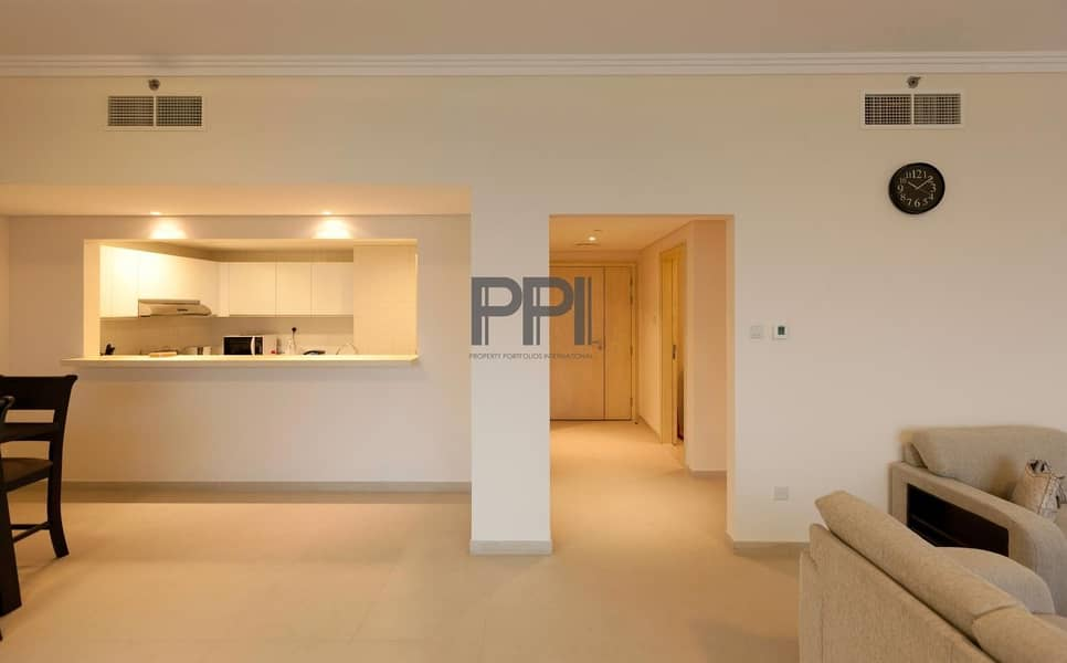 2 Fully Furnished with modern piece of equipment| dedicated beach Acces |Lake view