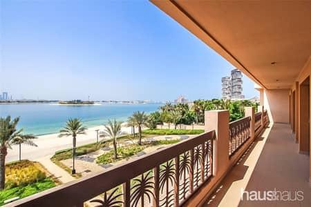 فلیٹ 3 غرف نوم للايجار في نخلة جميرا، دبي - 14 Month Contracts | Chill Free Period | Sea Views
