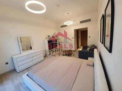 Studio for Rent in Jumeirah Village Circle (JVC), Dubai - Fully Furnished Studio Apartment with Balcony for Rent