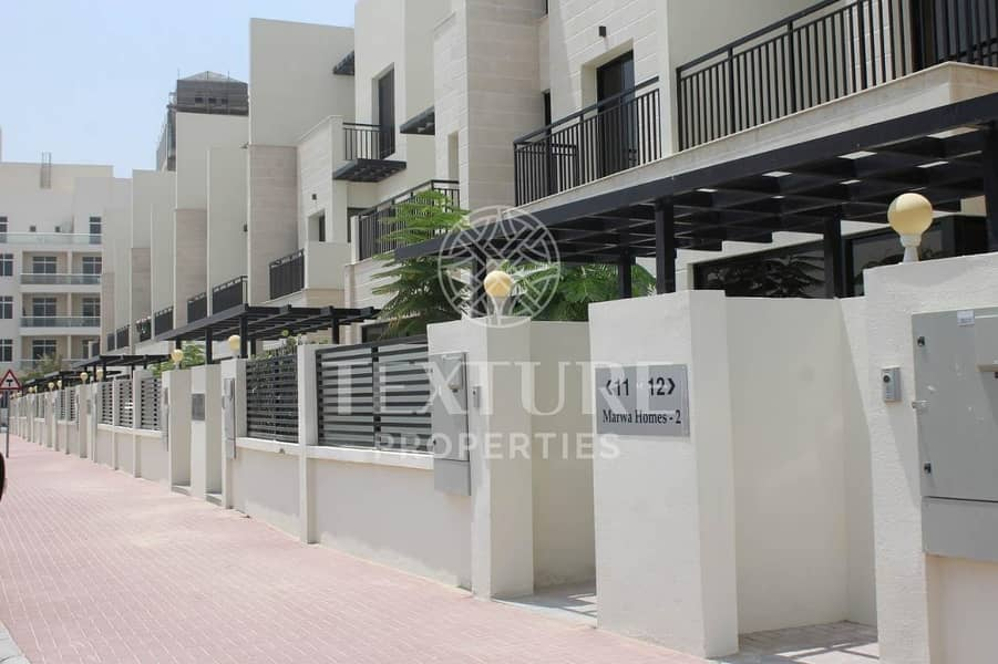 2 Amazing Brand New | 4 Bed+Maid Townhouses with Elevator | Marwa Homes 2 | JVC