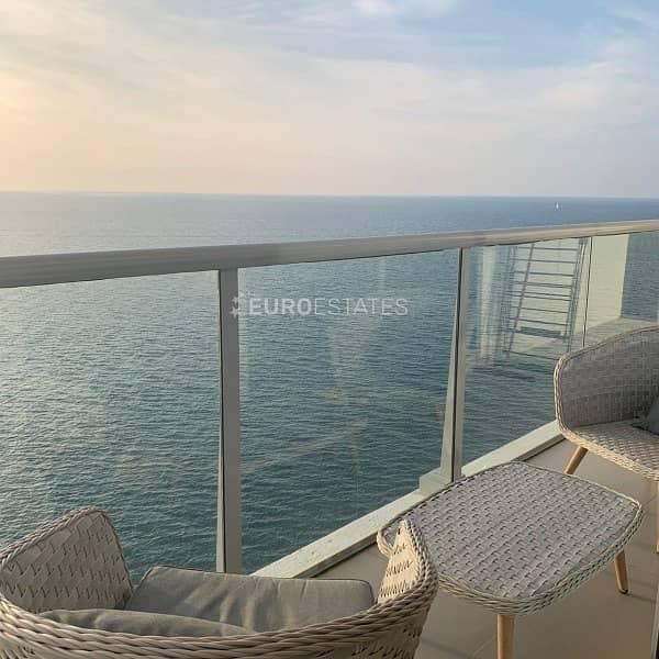 2 Gulf Suite -2 BR Apartment- Breathtaking Sea View