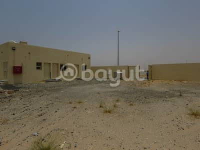 Mixed Use Land for Rent in Al Saja, Sharjah - MIX USE LAND WITH 2 ROOMS AVAILABLE FOR RENT IN SAJAA AL HANOO