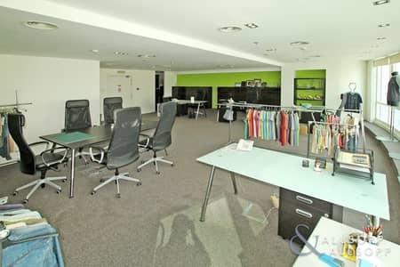 Office for Rent in Jumeirah Lake Towers (JLT), Dubai - Furnished Unit | Marina View | Close to Metro