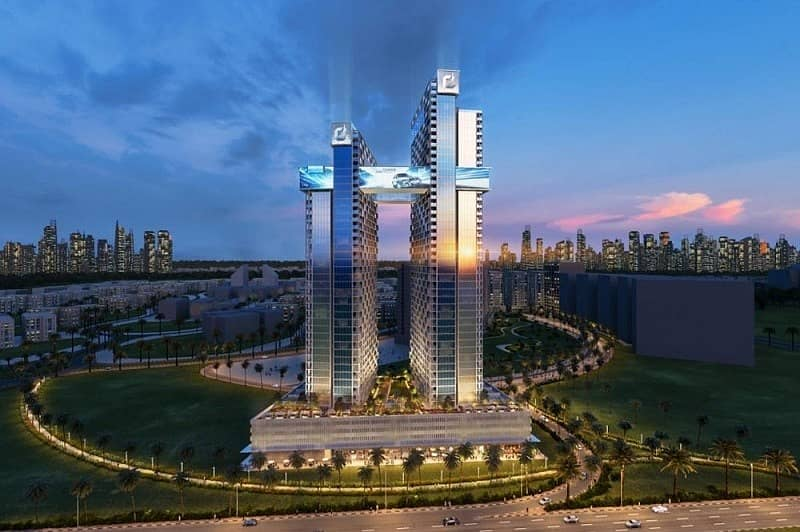 5 G+34 Plot for a 3 or 4 Star Hotel and Hotel Apartment | 4 Year Payment Plan Available