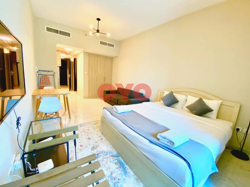 2 999 Monthly 1BHK | Fully Furnished | Free DEWA/WiFi | No Commission