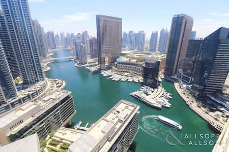 فلیٹ 2 غرفة نوم للايجار في دبي مارينا، دبي - 2 Bed | Fully-Furnished | Full Marina View
