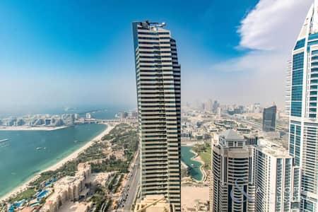 شقة 4 غرف نوم للايجار في دبي مارينا، دبي - 4 Bed Duplex | Fully-Furnished | Sea View