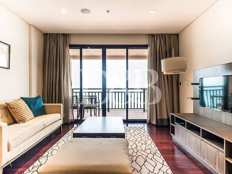 Burj Al Arab  Views | Furnished | Beach