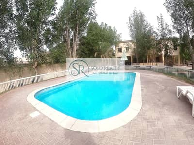 3 Bedroom Villa for Rent in Shakhbout City (Khalifa City B), Abu Dhabi - Modish 3 Bedrooms I Enticing Pool I Private Parking!!