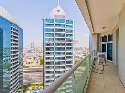 شقة 3 غرف نوم للايجار في برشا هايتس (تيكوم)، دبي - Furnished HUGE 3BR + Maid | Triple Balcony | Amazing City and Beach View